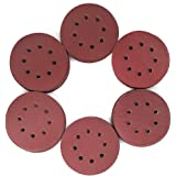 120PCS 5 Inch 8 Holes Sanding Discs - 1000 1200 1500 2000 2500 3000 Grit Assorted Sandpaper by LotFancy, Hook and Loop Random Orbital Sander Round Sand Paper