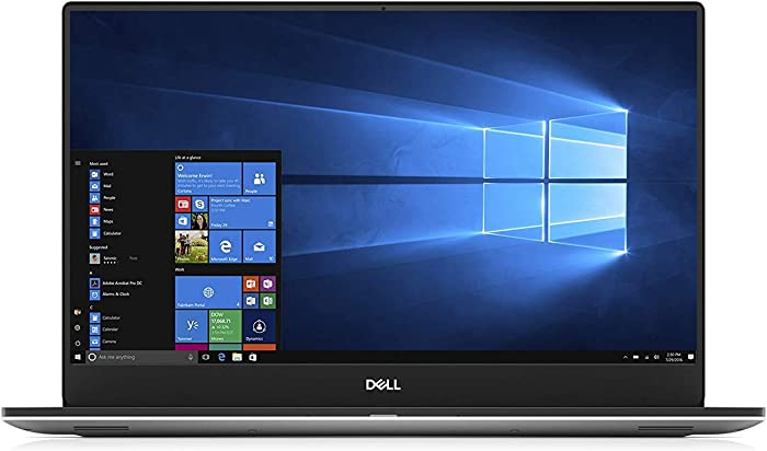 "Dell XPS 15 7590 Laptop: Core i7-9750H, 256GB SSD, 8GB RAM, 15.6"" Full HD IPS 500-nits Display, NVidia GTX 1650, Backlit Keyboard"