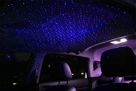UK Car USB Star Ceiling Light Sky Projection Lamp Romantic Night Lights 4 Colors