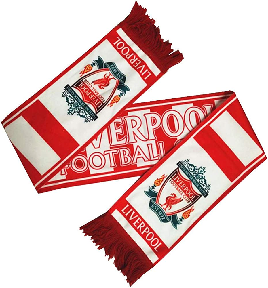 Football Club Accessory/Double Side Scarf Gift//Souvenir for Soccer Fans