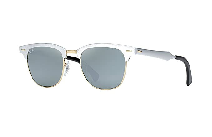 5204732b05 Image Unavailable. Image not available for. Colour  Ray-Ban Aluminum  Clubmasters RB 3507 137 40 49mm ...