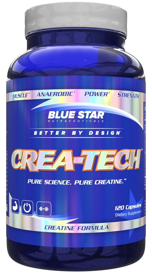 Blue Star Nutraceuticals Crea-Tech, 120 Capsules by Blue Star Nutraceuticals (Image #1)