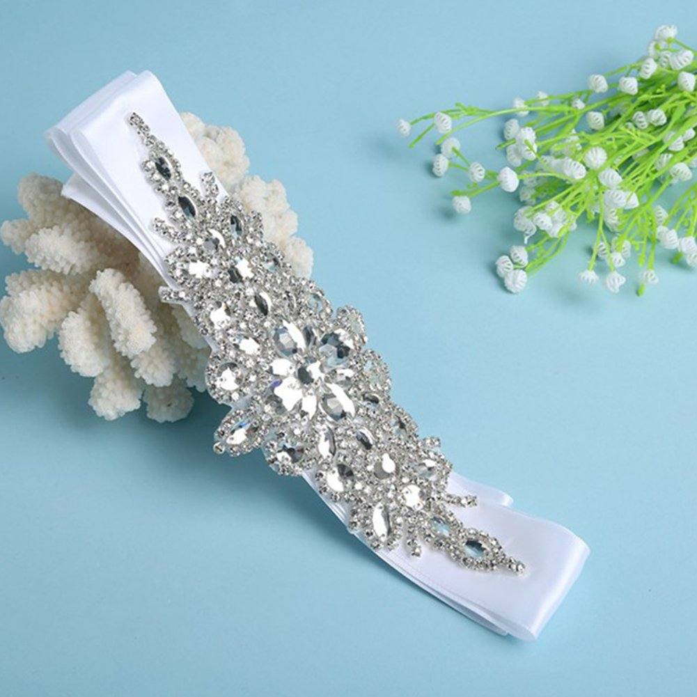 Flyonce Cristal Autrichien Mariage Fleur Feuille Vigne Collier+Boucles doreilles Parures