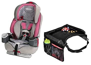 Graco Nautilus 3 In 1 Harness Booster Car Seat Valerie With Snack