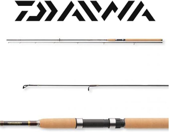 Daiwa Exceler – Caña de pescar (2,40 m, 10 – 40 G: Amazon.es ...