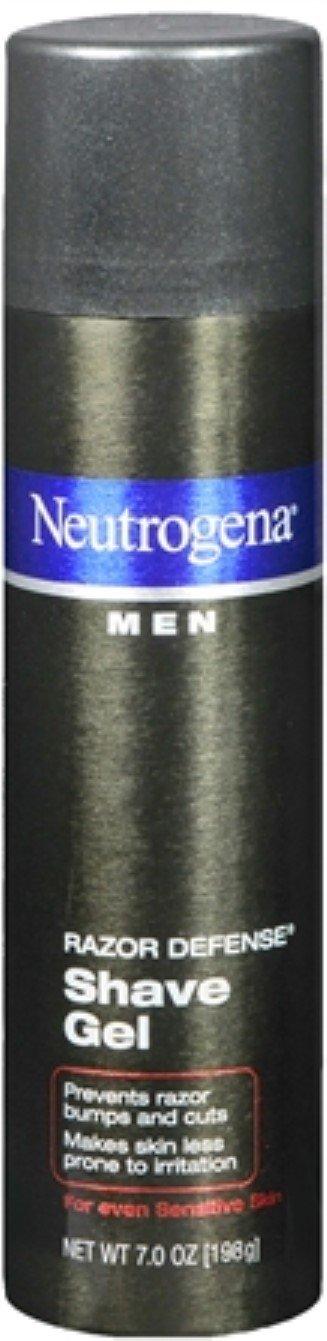 Neutrogena Men Razor Defense Shave Gel 7 oz (Pack of 10)