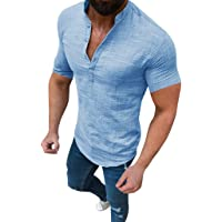 Lurcardo Camisetas Hombre, Camisetas Hombre Manga Corta Camisa Ropa Suelta Verano Camiseta para Hombre Camisetas Camisetas Originales Moda Camiseta de Hombre