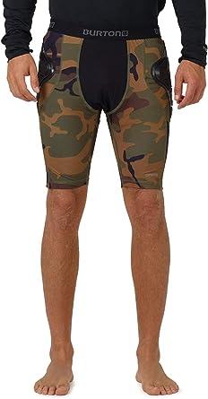 MB Total Imp Pantalones Cortos de Snowboard con realce de protecci/ón Burton
