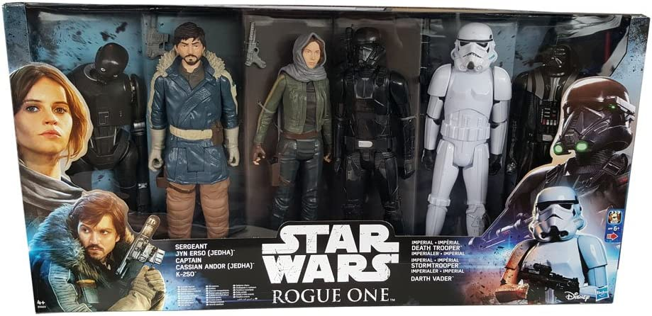 Star Wars Rogue One - Pack de 6 figuras 30 cm: Amazon.es: Juguetes ...