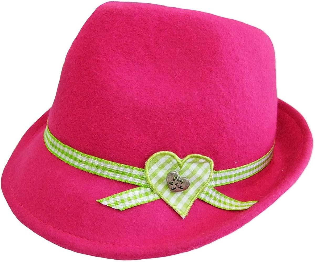 Sombrero regional tirolés con corazón para niñas, bonito ...