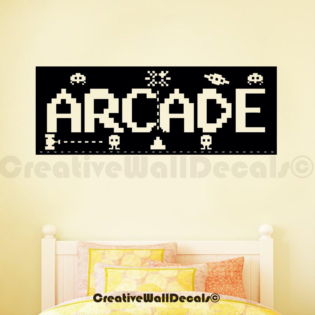 Vinyl Wall Decal Sticker Arcade Kids Game Fun Children Bedroom Gift R1748