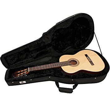 02efdaae7f7 Armourdillo Lightweight Hard-Foam Case for Full-Size Classical Guitars
