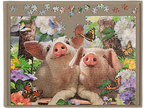 JIGBOARD 500 - Jigsaw puzzle board for up to 500 pieces from Jigthings