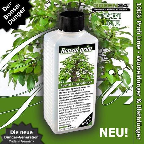 Bonsaidünger Grün Laubgehölze Koniferen HIGHTECH, Premium Flüssigdünger aus der Profi Linie