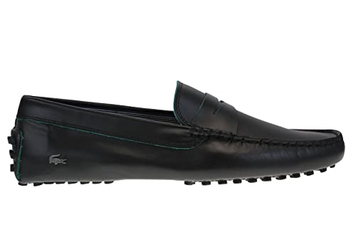 Lacoste - Mocasines para Hombre Negro Negro, Color Negro, Talla 45: Amazon.es: Zapatos y complementos