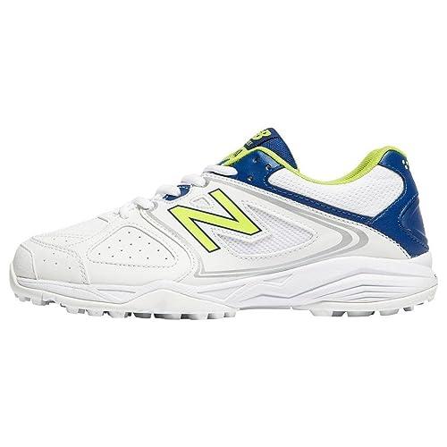 401177de8 New Balance CK4020 Junior Cricket Shoes, White, UK3.5: Amazon.co.uk ...