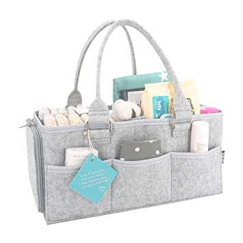 Diaper Bag Organizer Nappy Diaper Organizer Portable Baby Diaper Caddy bag