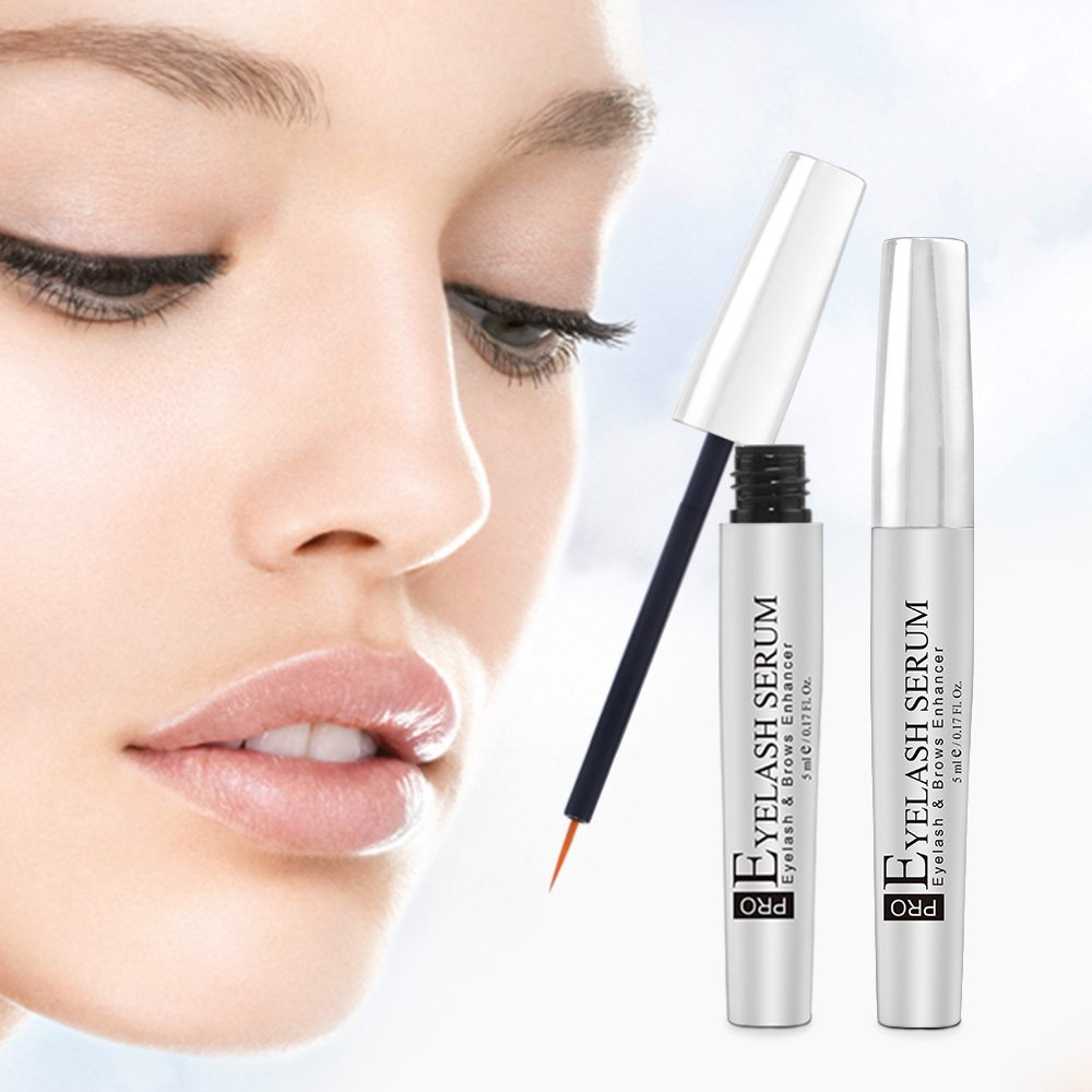 12530dfa5b6 Amazon.com: Neutriherbs Eyelashes Growth Serum Natural Petide Eyelash Serum  for Longer and Eyebrows are Thicker Eyelashes 5ml: Beauty