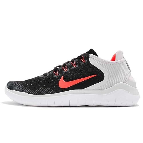 Nike Free RN 2018, Zapatillas de Running para Hombre, (Black/Total Crimson 005), 49.5 EU: Amazon.es: Zapatos y complementos