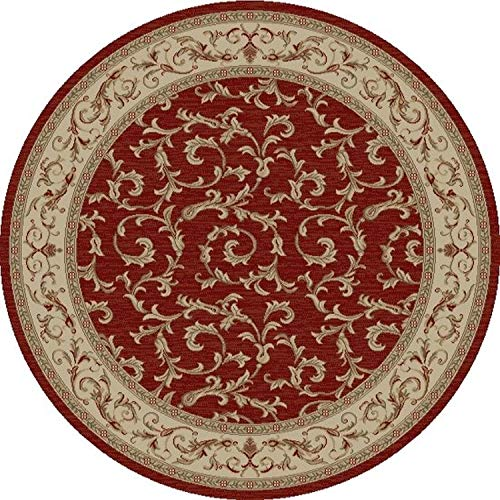 Concord Global Trading Concord Global Jewel Ivy Round Rug - 5'3