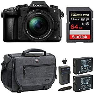 Panasonic LUMIX DMC-G85MK 4K Mirrorless Lens Camera Bundle