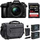 Panasonic LUMIX DMC-G85MK 4K Mirrorless Lens Camera Kit, 12-60mm Lens, 16 Megapixel (Black) Bundle Review