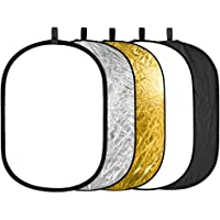 Neewer 5 in 1 Portable Round Collapsible Multi Disc Reflector