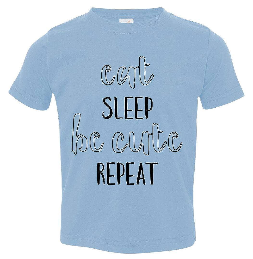 Tenacitee Babys Eat Sleep Be Cute Repeat Shirt