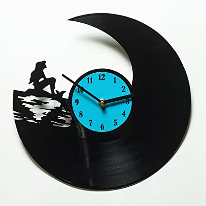 Unique Kitchen Wall Clock Mermaid   Clock For Home   Kitchen Wall Clocks    Vinyl Wall