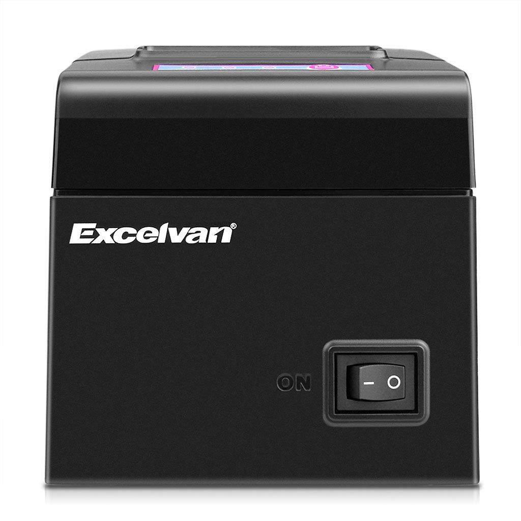 Excelvan Bluetooth 58 mm Impresora térmica para recibos de matriz ...