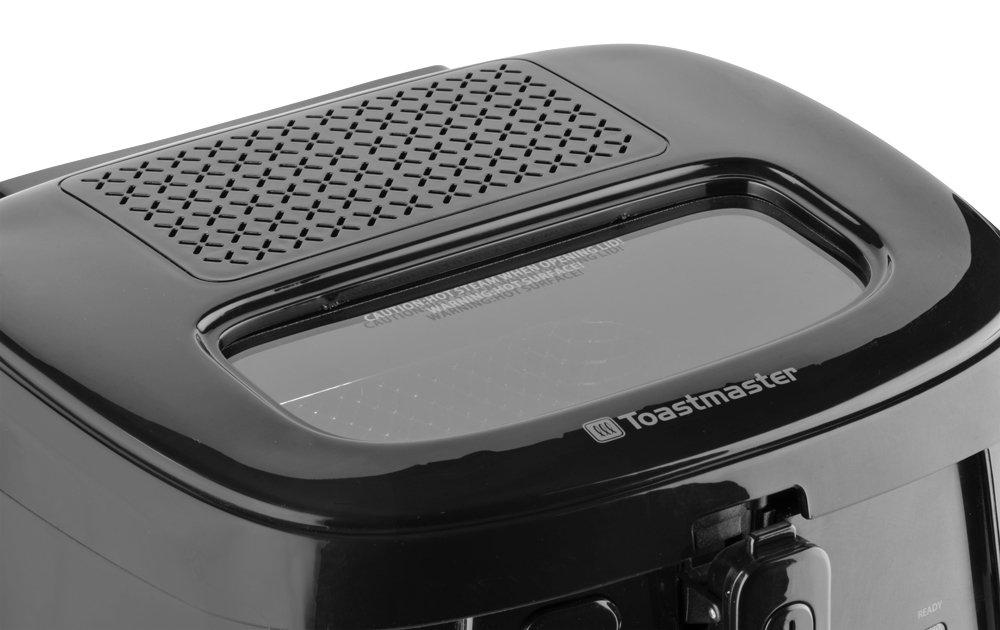 Amazon.com: Toastmaster TM-81DF Deep Fryer, 1 L, Black: Kitchen ...
