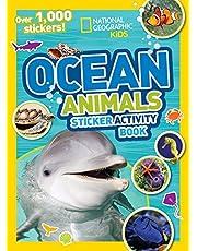 National Geographic Kids Ocean Animals Sticker Activity Book: Over 1,000 Stickers!
