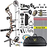 Best Compound Bows - TOPOINT Trigon Compound Bow Full Package,CNC Milling Riser,USA Review