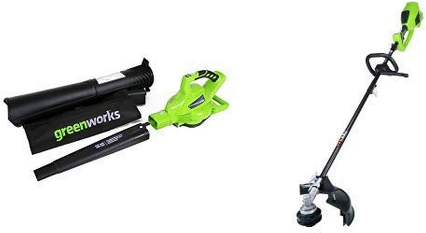 GreenWorks G-MAX 40V 185MPH Variable Speed Cordless Blower Vacuum