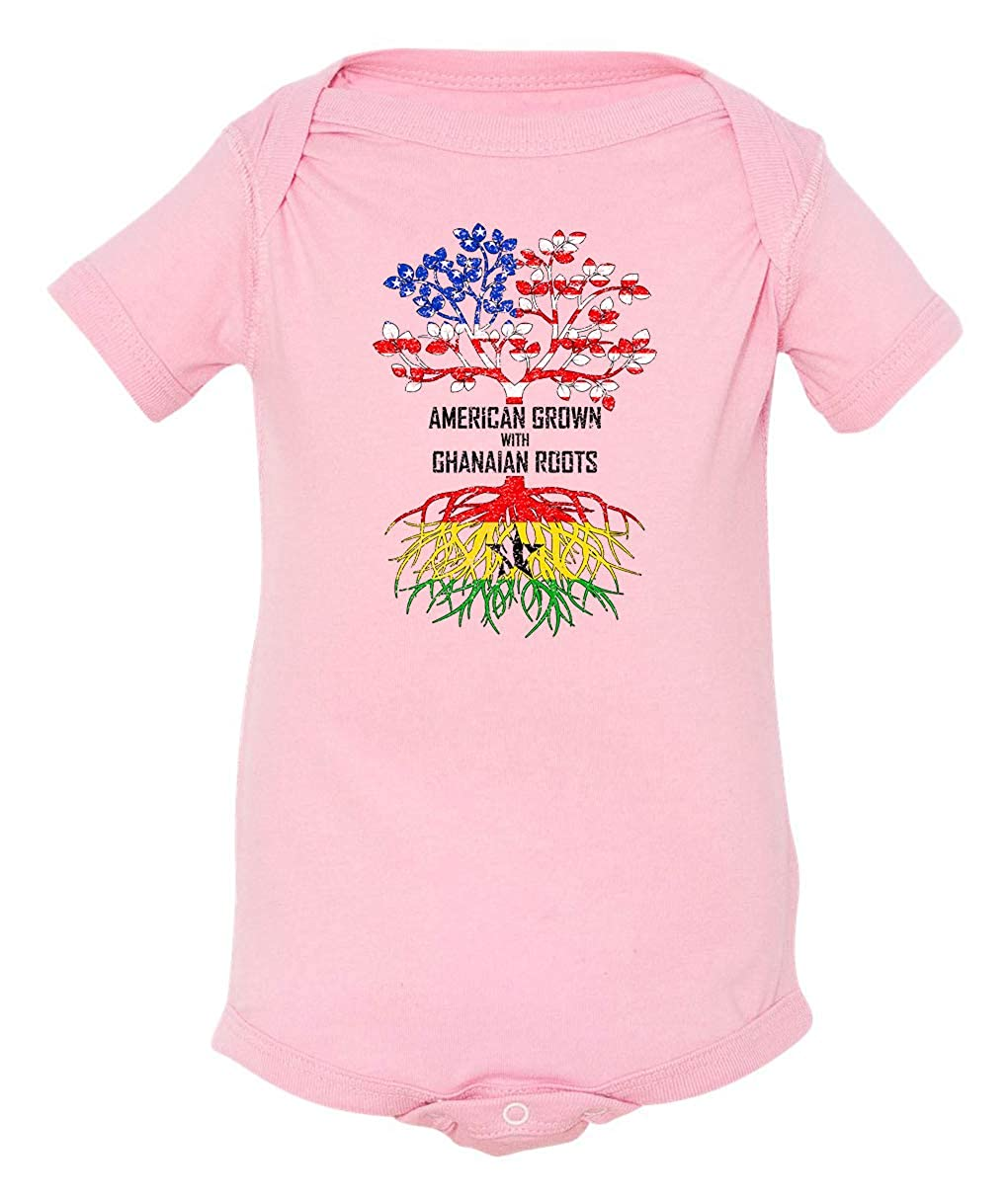 Tenacitee Babys American Grown with Ghanaian Roots Shirt