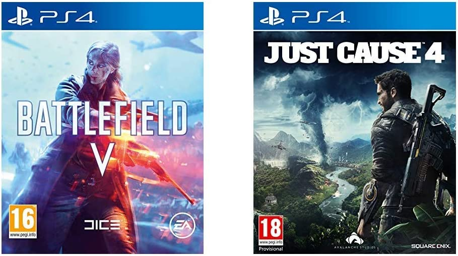 Battlefield V + Just Cause 4 - - PlayStation 4 [Importación ...