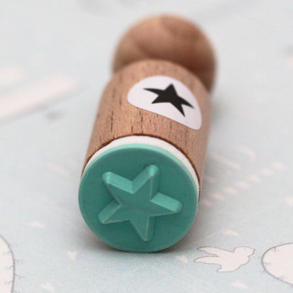 Scrapbooking Craft STAR Very Mini Rubber Stamp