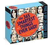 The 365 Smartest Things Ever Said! Page-A-Day Calendar 2018
