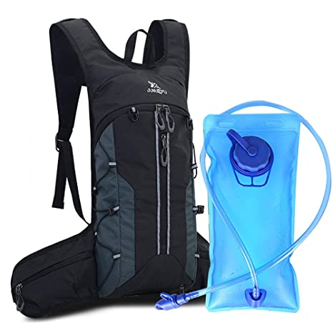 e71887ffe2 Mixi Hydration Backpack Pack Water Backpack with 2L Water Bladder Perfect  for Running Cycling Hiking Climbing
