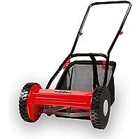 Grizzly Tools Cortacésped manual elicoidal HRM 300 – 3 con cesto de recogida