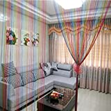 Best Norbi Curtains For Living Rooms - Norbi Rainbow Tassel String Door Window Room Divider Review
