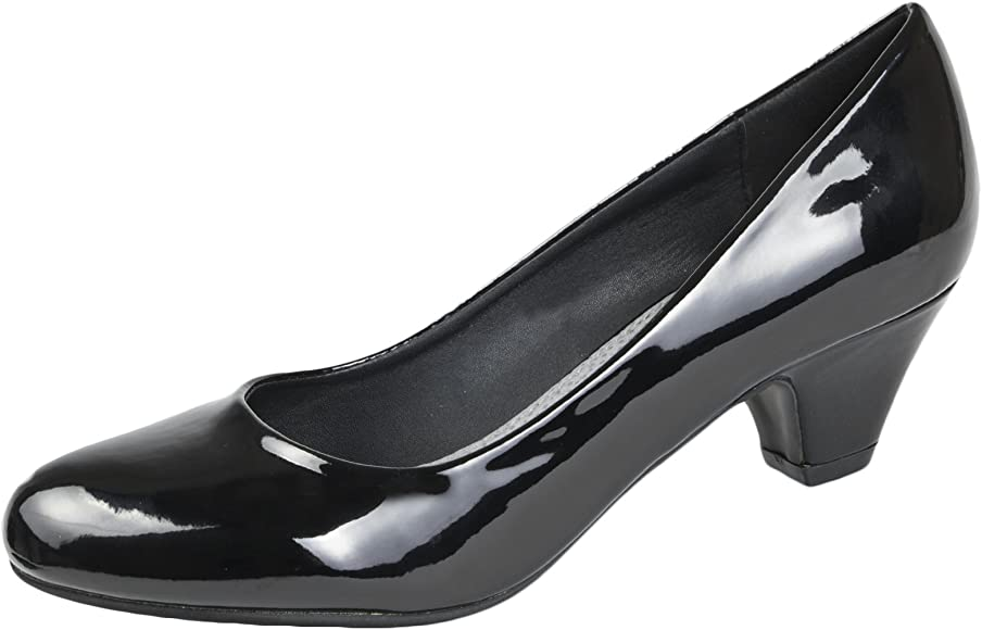low block heel shoes uk