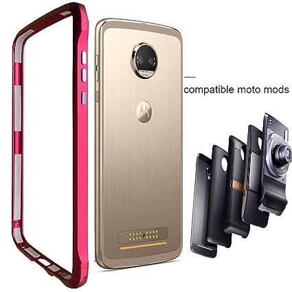 Amazon.com: Dngn - Carcasa para Motorola Moto Z Z2 Z3 Play ...