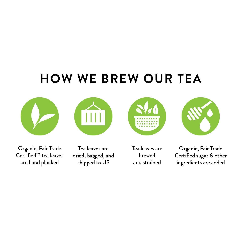 Honest Tea Organic Fair Trade Honey Green Gluten Free, 16.9 Fl. Oz, 33 Pack (Honey Green Tea (33 Pack)) by Honest Tea (Image #7)