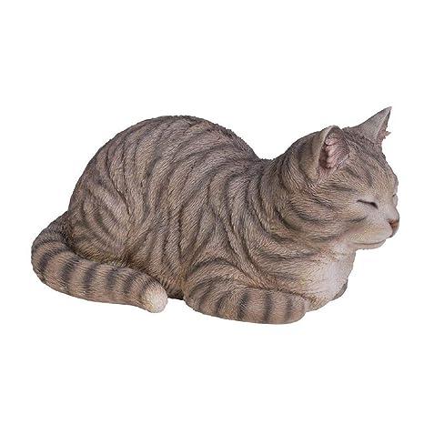 Vivid Arts Gato atigrado soñando, Ornamento de Resina