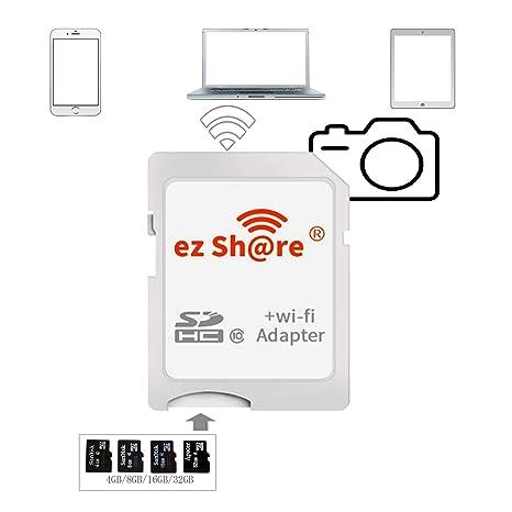 Amazon.com: ez Share - Tarjeta de memoria para cámara ...