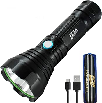 Rechargeable USB Super Bright Small Cree LED Torch Flashlight Beam Focusing Zoom