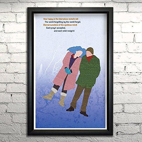 Eternal Sunshine of the Spotless Mind word art print - 11x17