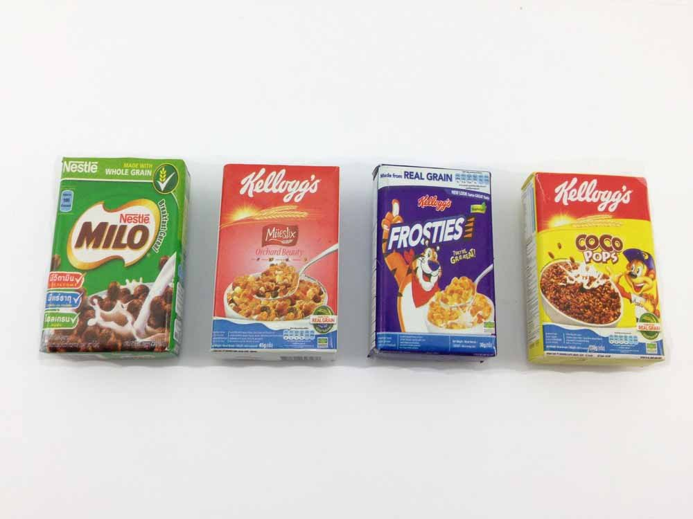 4pc Cereals Box Wall Magnet Collection 3d Fridge Magnet SOUVENIR TOURIST GIFT ETC-004 by Mr_air_thai_Magnet_Food