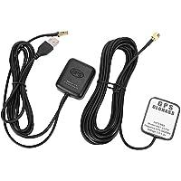 EVGATSAUTO Antena y receptor GPS de repuesto, ANT ‑ 1573 Amplificador de señal GPS para automóvil Antena aérea Receptor…